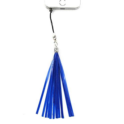 Staub Plug Reflektierende Quaste Kopfhörer Ohr Jack Handy Charm Tasche Zubehör Mehrfarbig 5x