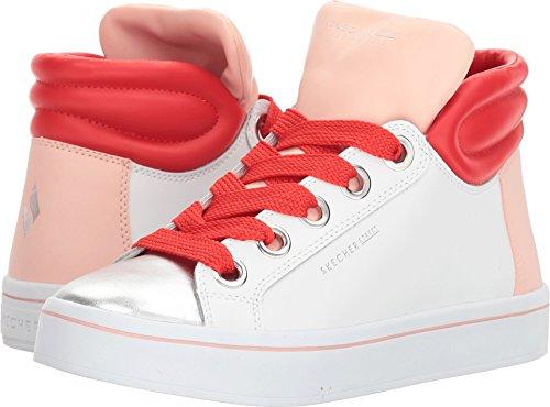 Skechers Womens Hi-Lite - Block Poppers White 11 B - Medium