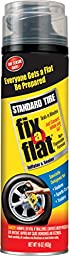 Fix-A-Flat S420-6-6PK Aerosol Tire Inflator with Hose for Standard Tires - 16 oz. (Pack of 6)