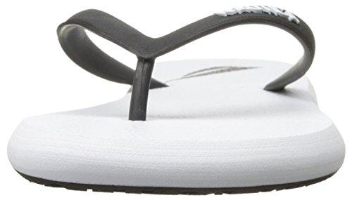 Nautica Men's Del Rey Flip Flop White/Black 1nidyDC