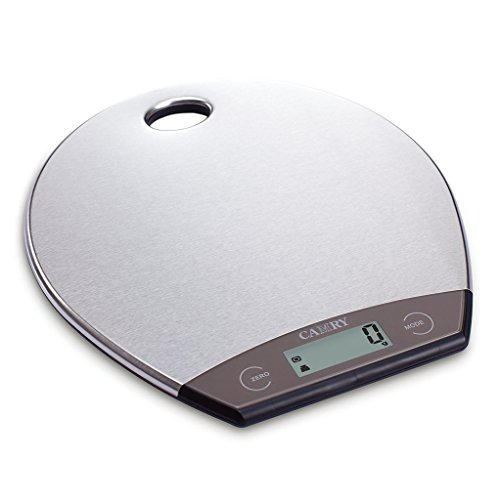 Spotkurv Bascula Cocina con Capacidad de Pesar hasta 5kg/11lbs, Báscula de Cocina Bascula Digital con Agujero para Colgar - Blanca: Amazon.es: Hogar