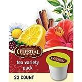 CELESTIAL TEA VARIETY K CUP SAMPLER 88 COUNT