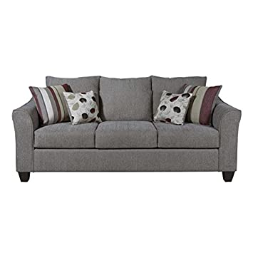 Genial Serta Sofa Extremely Comfortable Very Sturdy Fabric Sofa For Living Room Or  Bed Room (Metal