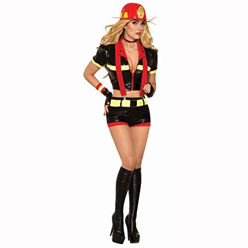 Women's Hot Firefighter Costume -