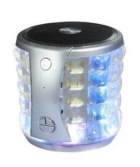 Portable Mini Bluetooth Speaker w/ Flashing Lights for ASUS ZenFone Max Plus, V Live, V, 4 Pro, 4, AR, 6, 2, 5, 3, 3 Zoom, Deluxe, Ultra (Deluxe Flashing Kit)