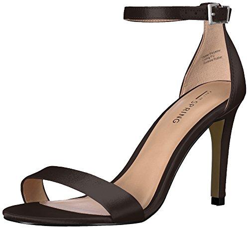 Sandal Women Ahlberg Satin Dress Call Black It Spring xa4RHwXq