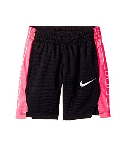 Nike Kids Elite Basketball Short Little Kids/Big,Black/Vivid