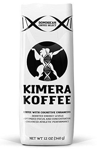 Kimera Koffee - Nootropic Infused Ground Coffee - High Altitude Single Estate (12oz)