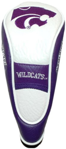 Team Golf NCAA Kansas State Wildcats Hybrid Golf Club Headcover, Hook-and-Loop Closure, Velour lined for Extra Club Protection