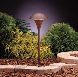 Kichler 15236TZT One Light Path & Spread