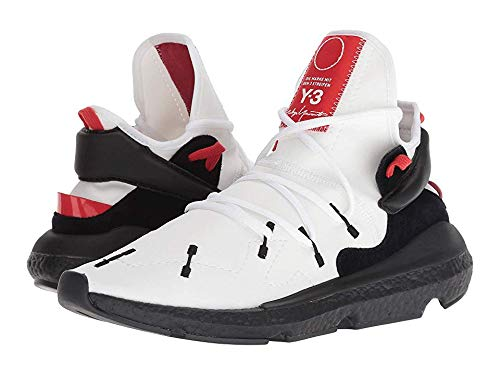 Used, Y-3 Men's Kusari II Sneakers, White/Black, 7 M UK for sale  Delivered anywhere in USA