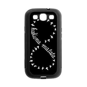 Danny Store Hakuna Matata Infinite Protective TPU Gel Rubber Back Fits Cover Case for SamSung Galaxy S3