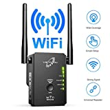 VICTONY WA305 WiFi Extender for 2.4G 300Mbps WiFi Signal Booster with 2 External