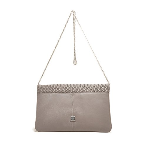 Waterlily Women's Los Leather Slate Aria Angeles Clutch pq84A1wqFx