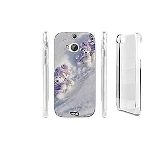 FUNDA CARCASA PELUCHES NEVE CUTE PARA HTC ONE M8