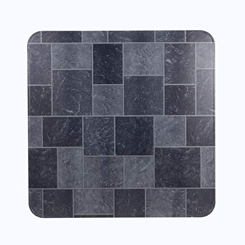 HY-C T2UL3636GT-1C Slate Tile Stove Board, UL1618 Type 2, 36