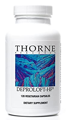 THORNE RESEARCH - Deproloft-HF - 120 caps [Health and Beauty]