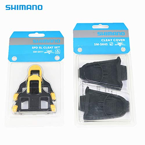Cleats Shimano Sh11 Sl Spd - Shimano SPD-SL SM-SH11 Cleat with SM-SH45 Cleat Cover for Road