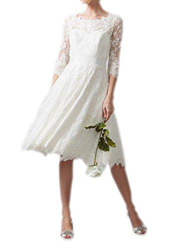 Nero Maniche Da Pizzo Del D'onore In Sposa Amore Damigella 3 Una Eleganti Matrimonio 4 Linea Abito Da Corte Donne wS8PSUZdq