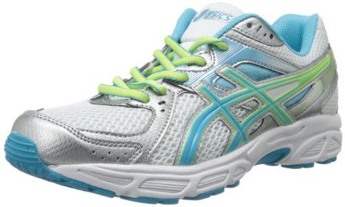 ASICS Womens Gel-Contend 2 Running ShoeWhiteTurquoiseSharp Green8.5 M US