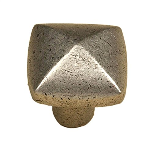 Hobnail knob (Set of 10) (Weathered White)