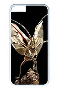 iphone 6 4.7inch Case and Cover Grasshopper Launch Animal PC case Cover for iPhone 6 White