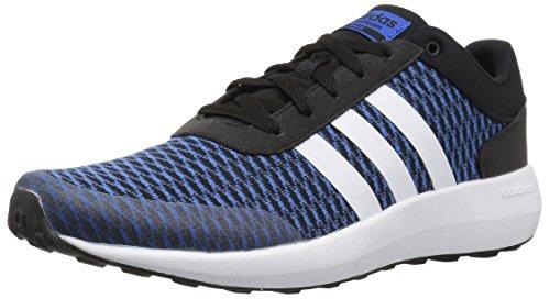 Adidas Neo Menns Jf Rase Løpesko Svart / Hvit / Blå