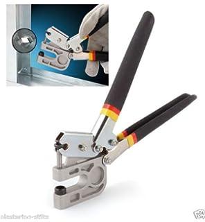 newest 10 gb stud crimper tpr handle metal punch lock dry wall hand - Metal Stud Framing Tools
