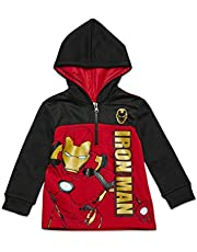 Marvel Avengers Half-Zip Hoodie Fleece