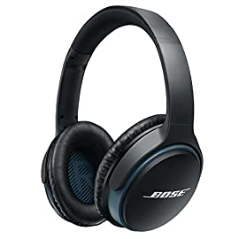 Bose SoundLink around-ear wireless headphones II Black 94 Deep, immersive sound, improved eq-best-in-class performance for wireless headphones Latest Bluetooth technology for easy connectivity and seamless audio/video syncs.Recharge Time 	3.0 Hours Advanced microphone system, HD voice for clear calls in windy or noisy environments