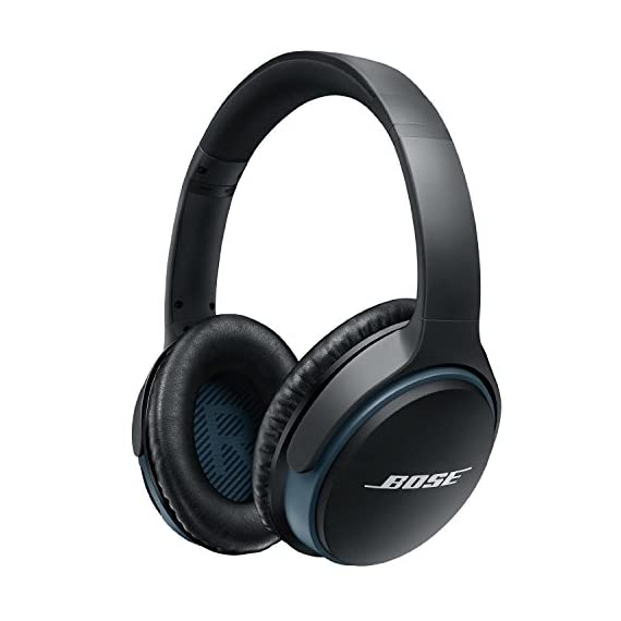 Bose SoundLink around-ear wireless headphones II Black 1 Deep, immersive sound, improved eq-best-in-class performance for wireless headphones Latest Bluetooth technology for easy connectivity and seamless audio/video syncs.Recharge Time 3.0 Hours Advanced microphone system, HD voice for clear calls in windy or noisy environments