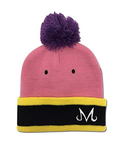 (Dragon Ball Z Majin Buu Officially Licensed Beanie Pink)