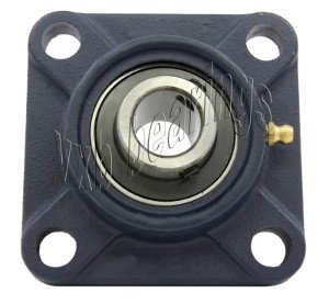 40mm Bearing UCF-208 + Square Flanged Cast Housing Mounted Bearings