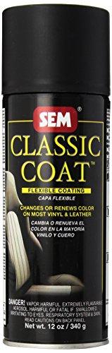 SEM 17503 Limo Flat Black Classic Coat - 12 oz. (Classic Coat)