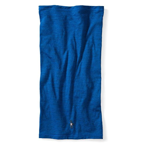 SmartWool NTS Micro 150 Pattern Neck Gaiter Bright Blue, One Size