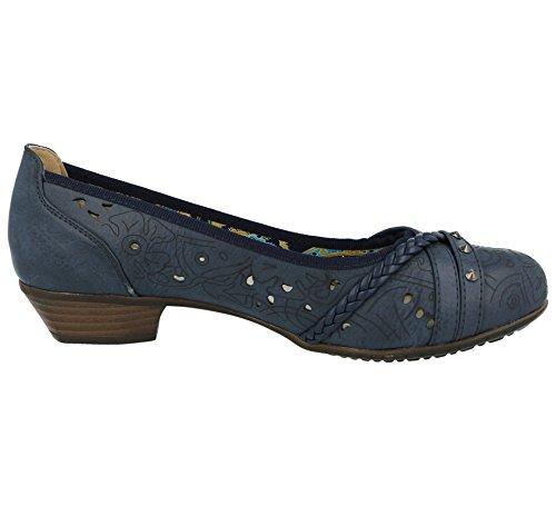 Footwear Femme Fille Foster Bleu Escarpins Marine T1Snwq