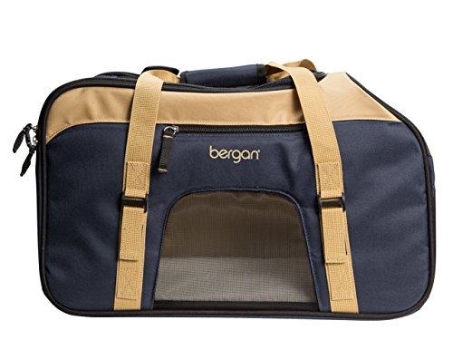 Bergan Comfort Carrier - Large Top Loading - Navy & Sand