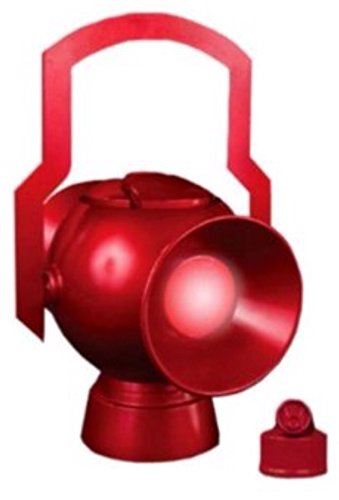 DC Direct JLA Trophy Room: Red Lantern Power Battery with Ring Prop (Jla Trophy Room)