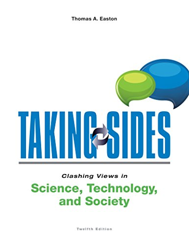 Taking Sides:...Sci.,Tech.+Society