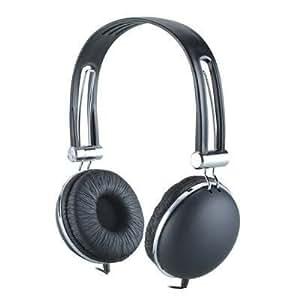 Premium Over-Head Stereo Earphones Headset Headphones w/ Microphone for Apple iPhone 6S/ 6S Plus/ 6S / iPhone 6 Plus/ iPhone 6/ 5S/ 5C/ 5/ iPad Mini 3/ Air 2/ Mini 2/ Air/ Mini/ iPad 4/ 3/ iPod touch 5th generation (Black) + MYNETDEALS Stylus