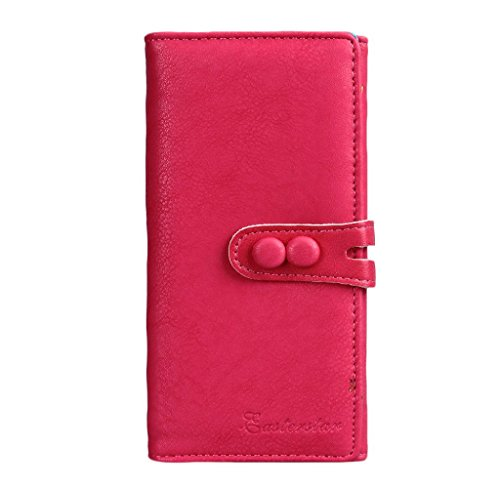 Wallet Small Fresh Wallet Mobile Phone Bag Pink - 9