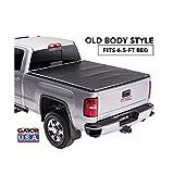Gator Tri-Fold Tonneau Truck Bed Cover 2014-2018 Chevy Silverado GMC Sierra 6.5 FT Bed