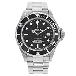Rolex Sea-Dweller Automatic-self-Wind Male Watch 16600 (Certified Pre-Owned)