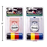 Casino Travel Poker set - 48 Chips & Playing Cards