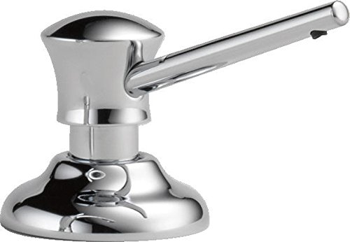 chrome classic countertop mount soap