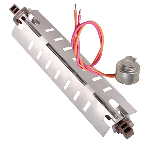 WR51X10055 Defrost Heater and WR50X10068 Thermostat Kit For GE Hotpoint RCA Refrigerator Replacement