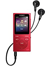 Sony NWE394/R 8GB Walkman MP3 Player (Red)