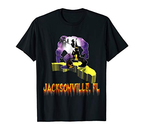 jacksonville Florida Bigfoot halloween shirt ()