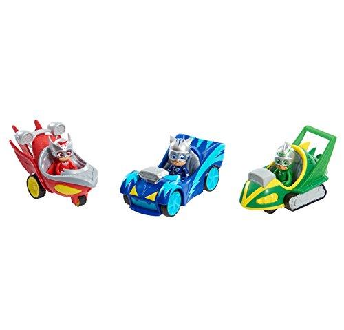 عروض PJ Masks Catboy Speed Boosters Vehicles, Multicolor