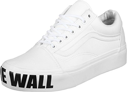 c952f81dcba7 Old Skool Wall Trainers Off Vans The Women  s Platform White fybY76g